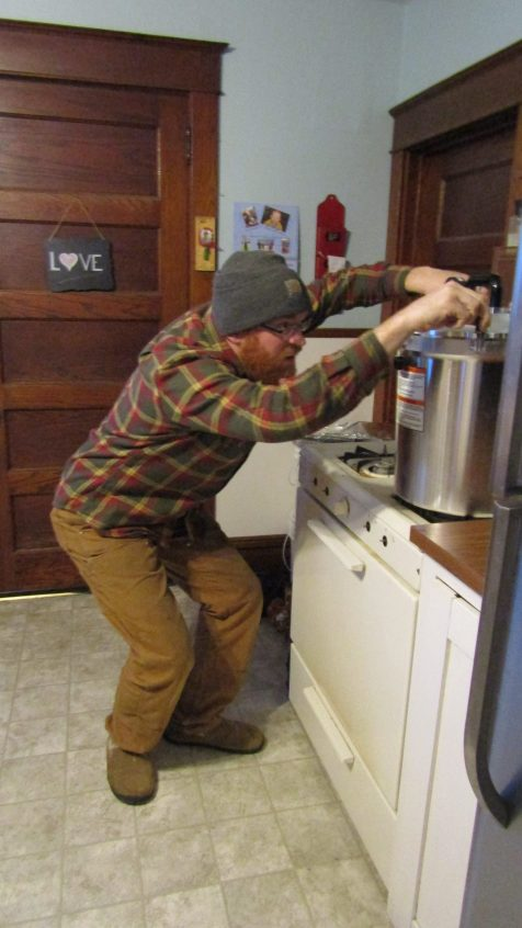 Homesteading in Wisconsin: April