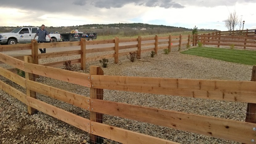 Fence Repair and Installation in Colorado Springs by Colorado Stoneworks Landscaping