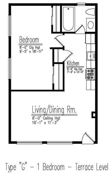 Type G floor plan