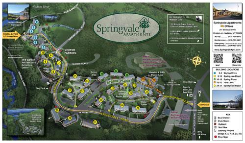 Springvale Site Map