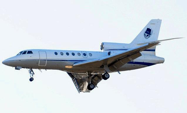 Dassault Falcon 50 - Landing
