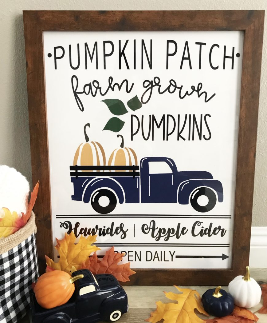 photo relating to Free Printable Pictures of Pumpkins known as Pumpkin Patch Indication Absolutely free Printable - Sprinkled with Paper