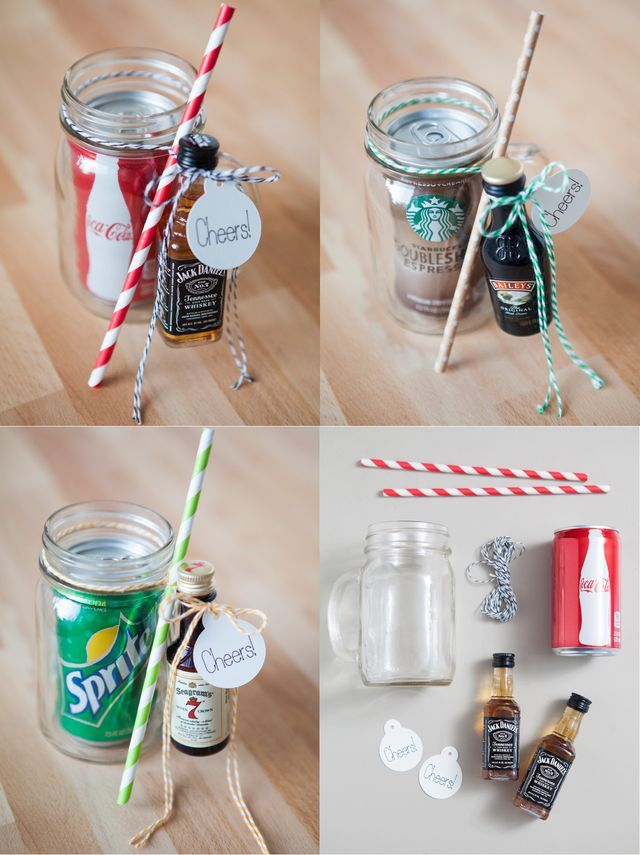 Bar In A Jar The Perfect Summertime Gift Sprinkled With Paper