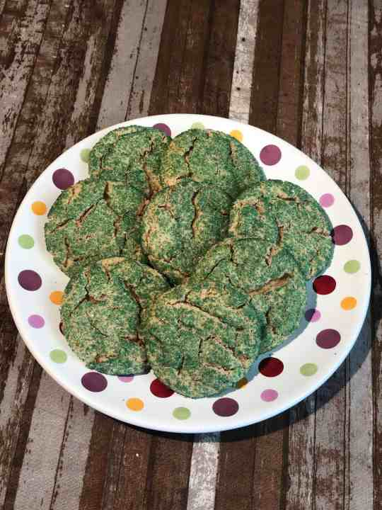Green Snickerdoodle Cookies, perfect for any occasion!