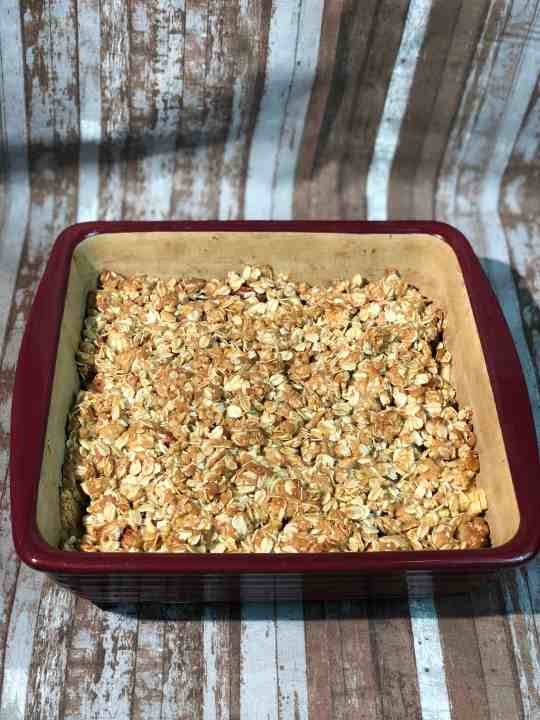 Apple Oatmeal Fruit Crisp Topping