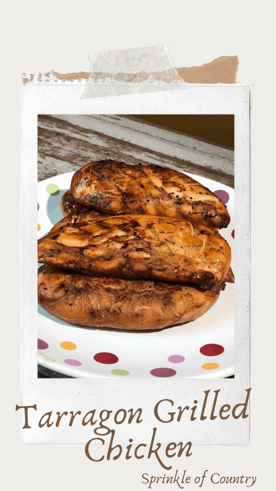 Easy Tarragon Grilled Chicken Pin