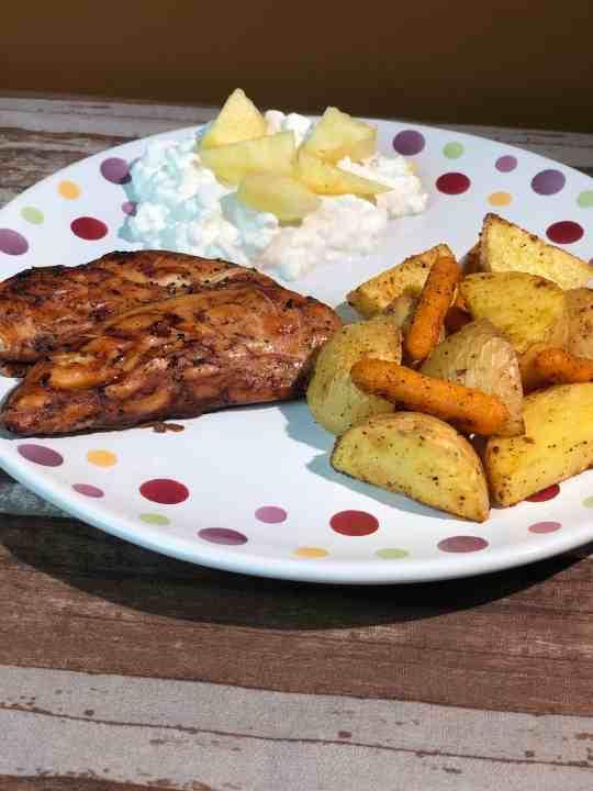 Easy Tarragon Grilled Chicken