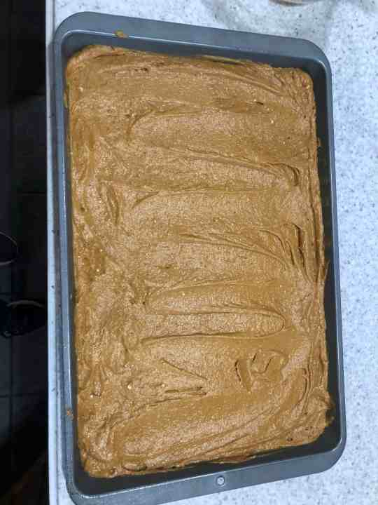 Pumpkin Spice Cake Batter