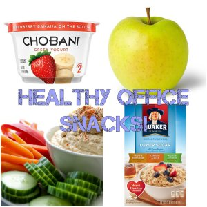 healthy snack collage