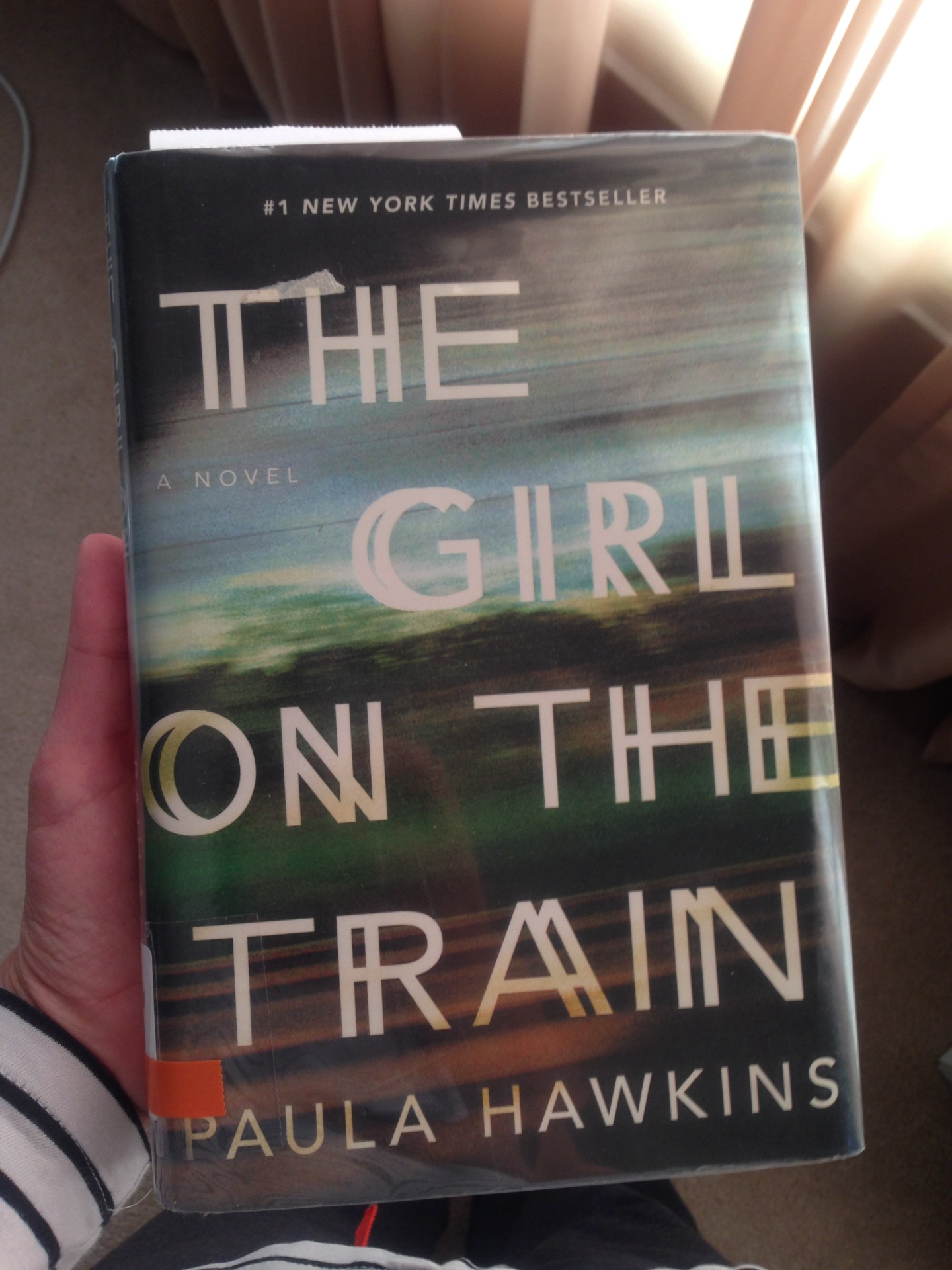 Fiction Friday: The Girl on the Train — Book Review