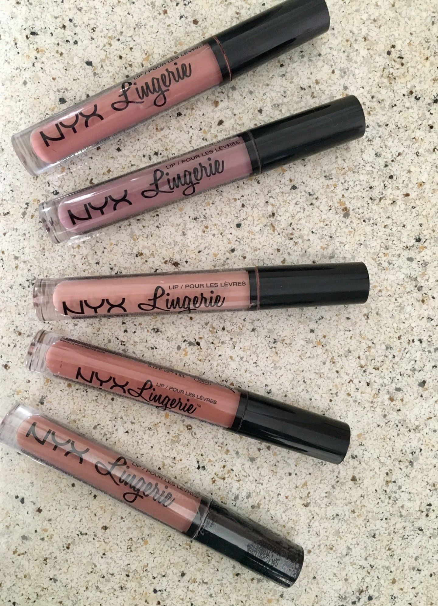 NYX Lingerie Review & Swatches!