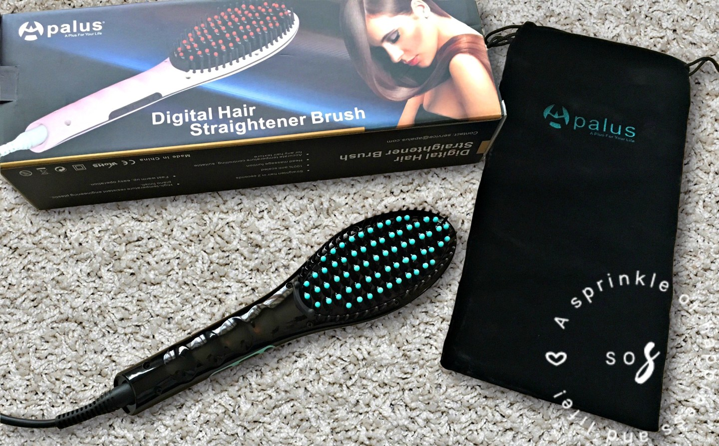 Hair Straightening Brush – Review & First Impressions!