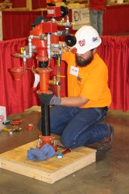 The gold medal winner was Nathan Lee, an apprentice with AFSA member Cox Fire Protection, Tampa, Florida.