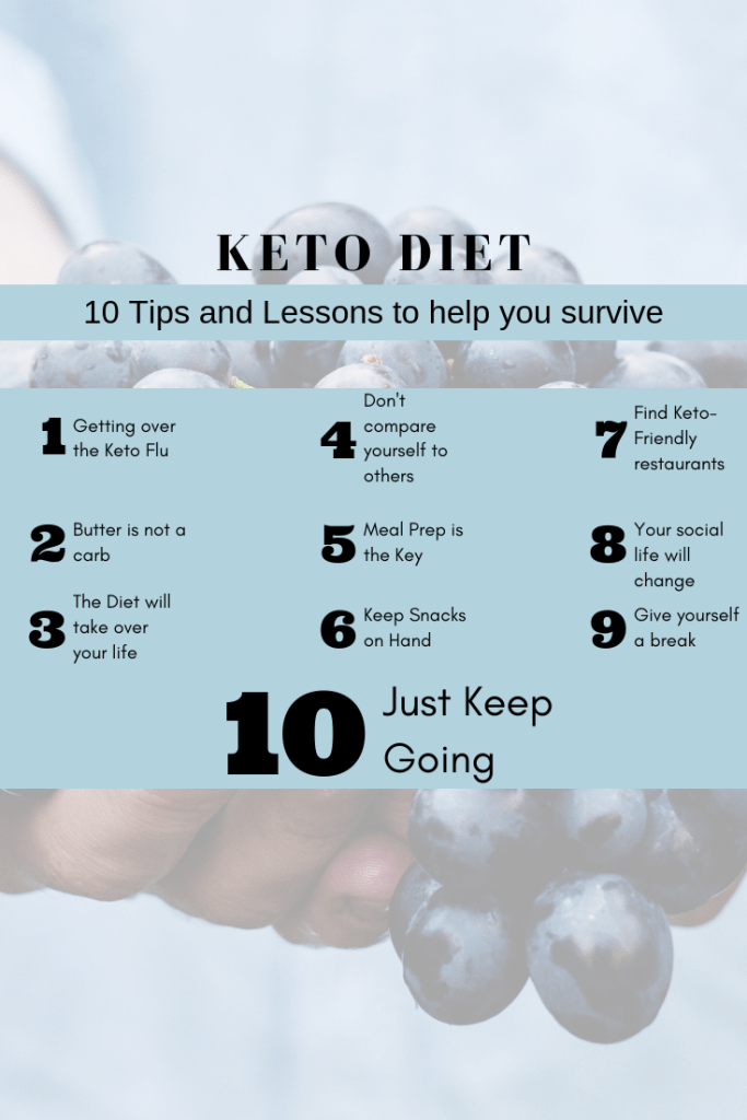 Keto Diet - 10 tips and lessons to help you survive