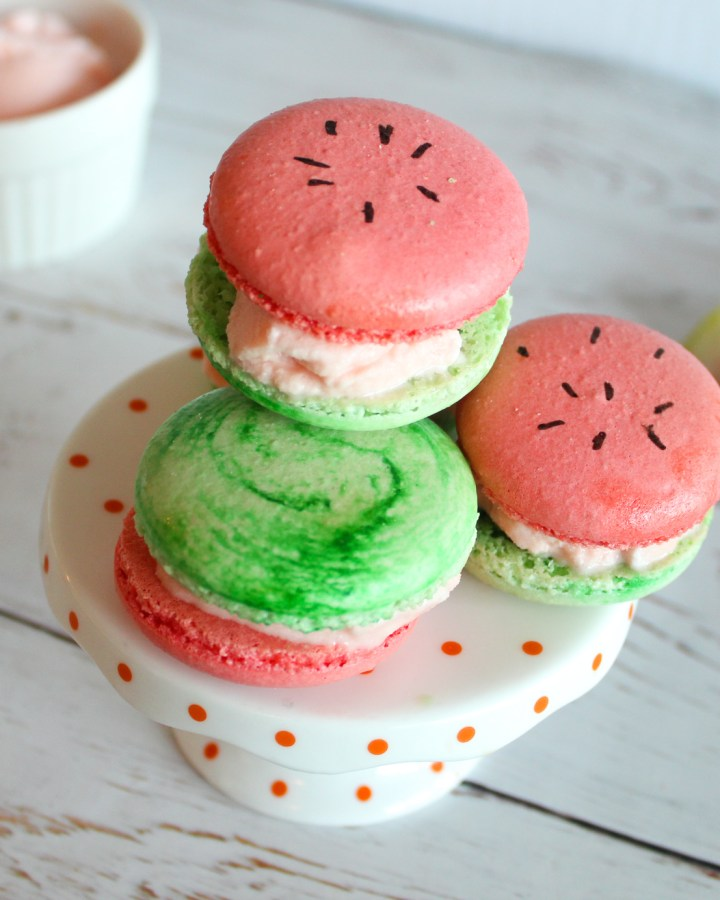 Watermelon Macarons Feature