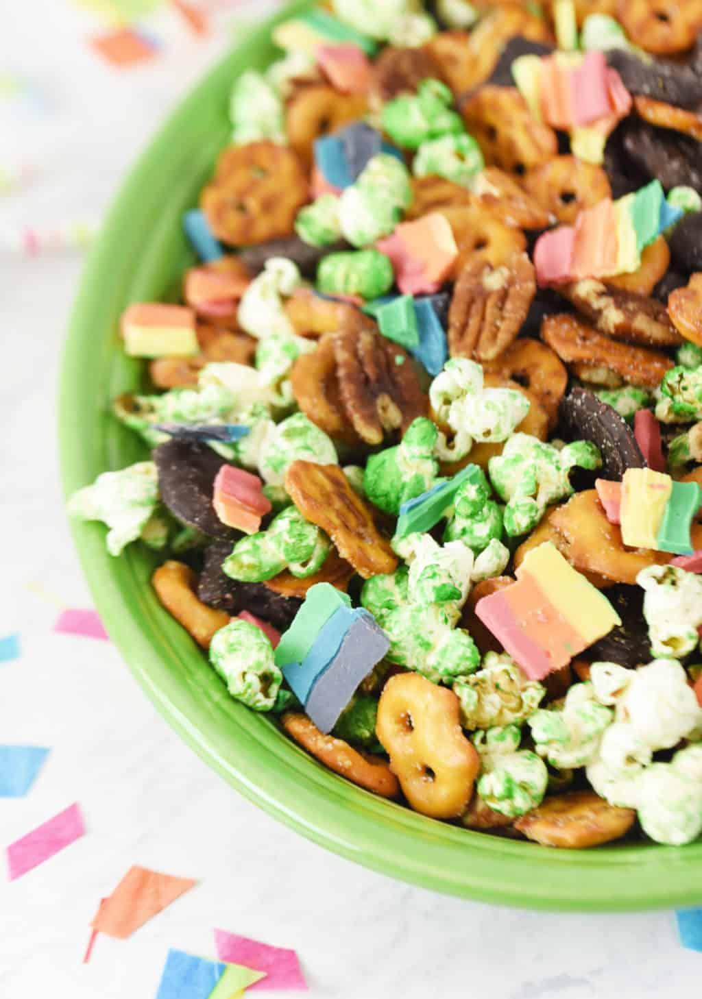Rainbow St Patrick S Day Snack Mix Sprinkle Some Fun