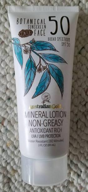 Organic Botanical Tinted Sunscreen