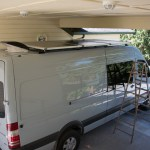 Mounting Solar Panels To The Roof Of A Van Sprinter Adventure Van