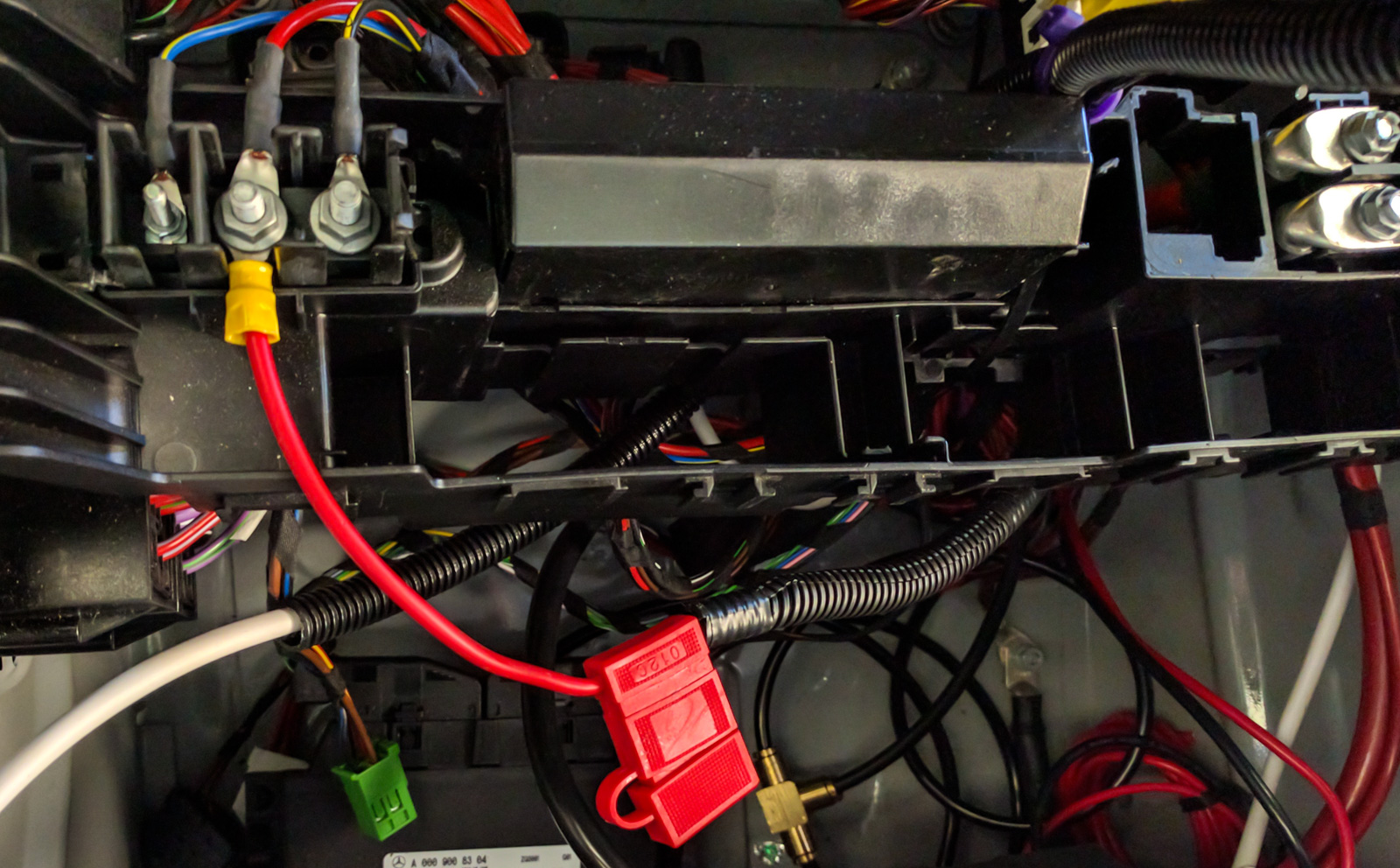 Tapping In To The Sprinter Vans Battery Adventure Van 2013 Mb Wiring Diagram Be Sure Add A Fuse