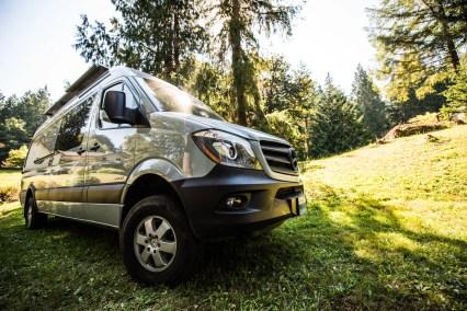 The Escape Pod - a long wheelbase 2500 4x4 Sprinter van