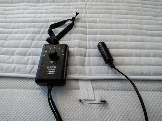 ElectroWarmth 12v heated mattress pad