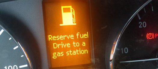 Drive to a gas station ... surely you mean diesel?