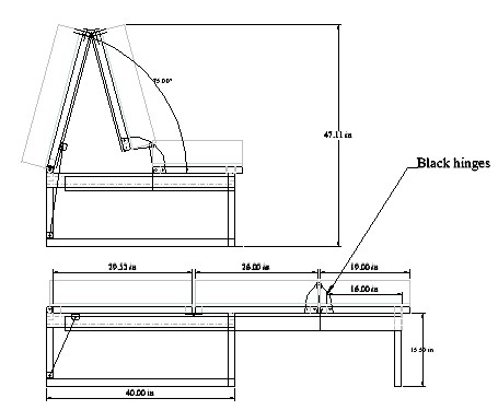 GeorgeRa's bed plan (cropped from his online drawing)