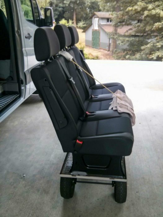 What To Do With Your 3 Person Passenger Seat Bench When It