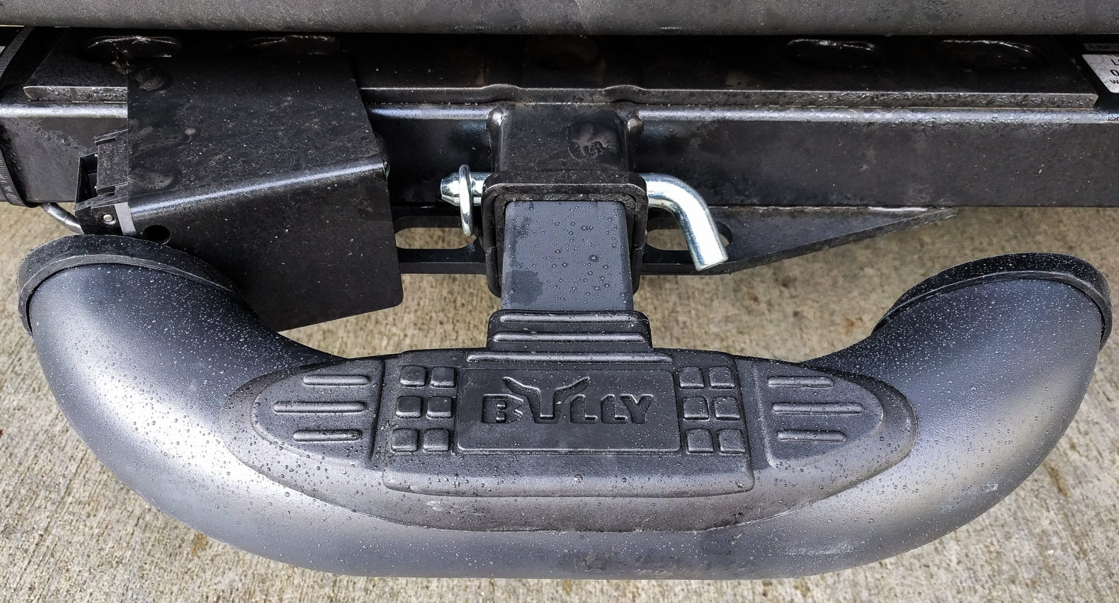 Why Did Mercedes Put The Trailer Wiring Box So Close To Harness Bully Black Bull Bar Mounted Sprinter