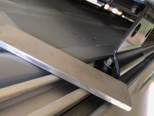 "1/4"" aluminum bar stock for roof rack shims"