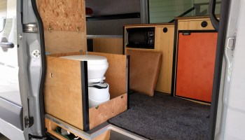 Installing The Natures Head Composting Toilet In A Sprinter