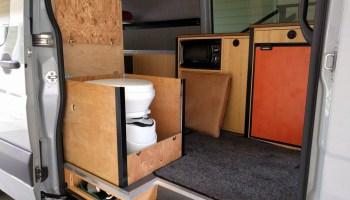 Choosing a composting toilet – Sprinter Adventure Van