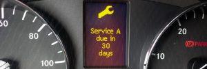 Service A dash message
