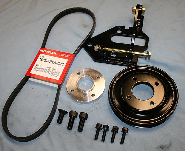 Spriso Motorsports Justy Alternator Install Kit