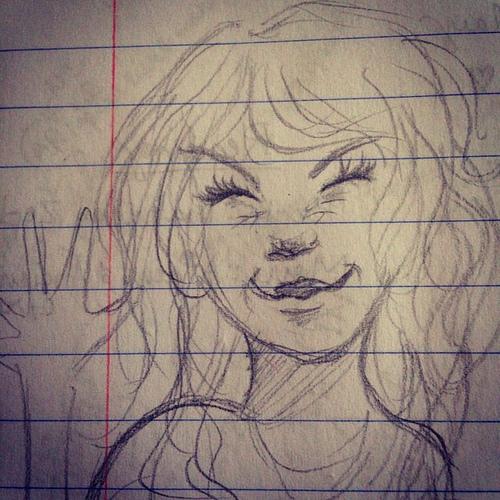 Random art on the school list. I love my kids.  #drawing #doodle #art #neat #hschallenge