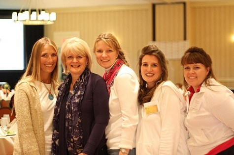 some post authors with Sally Clarkson