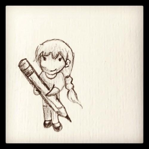 Morgan's Doodles @meesalees #illustration #drawing #art