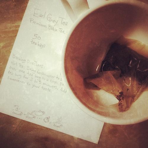 Earl Grey #tea #photoadayjune #empty #brown