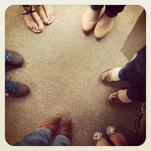 #blissdom photo walk shoes