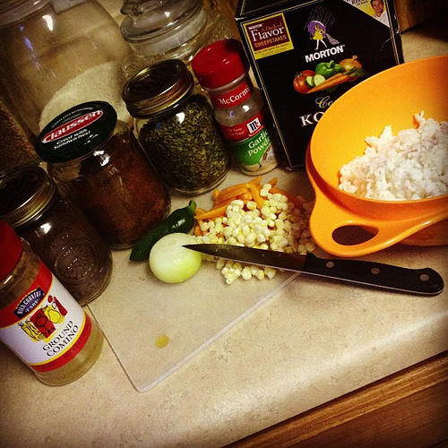Spanish Rice -- or TexMex Rice -- is also happening. #foodie #igtexas #mexicanfood