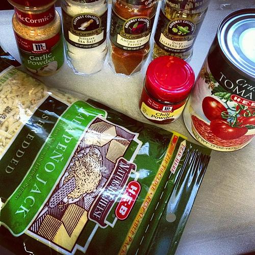 Spicy goodness...  #spon #mccormick #enchiladasoup
