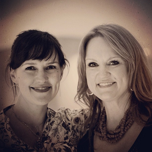 I met these lovely ladies. So glad to share #Austin with Betsy. #blogherfood