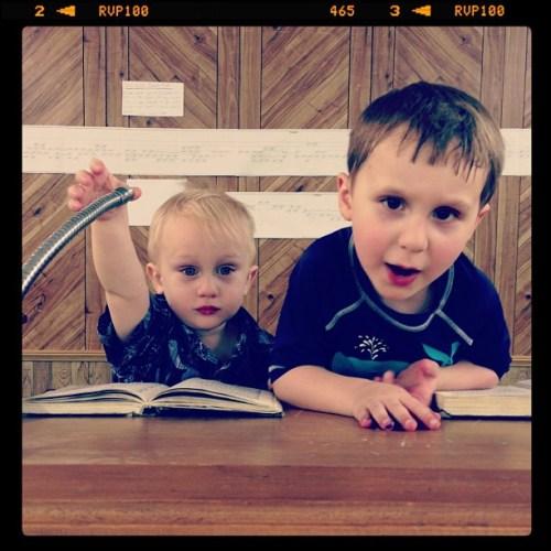 Future preachers.