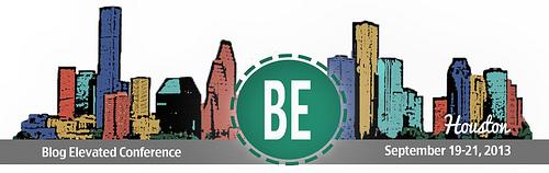 Blog Elevated Conference, Houston, TX - September 19-21, 2013
