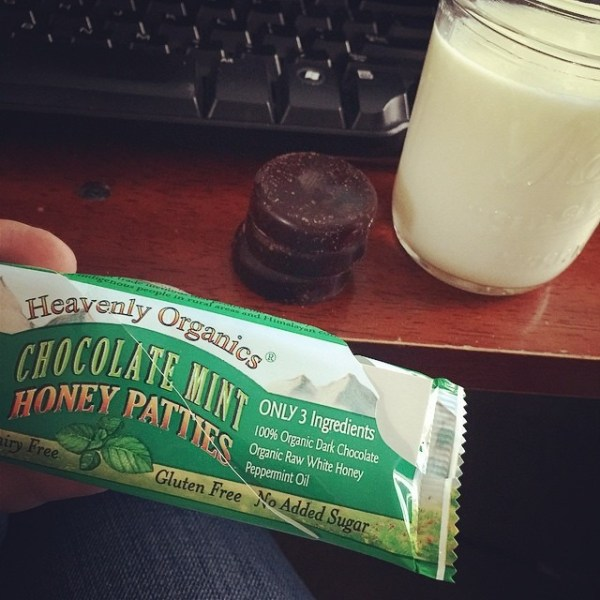 Chocolate Honey Mints