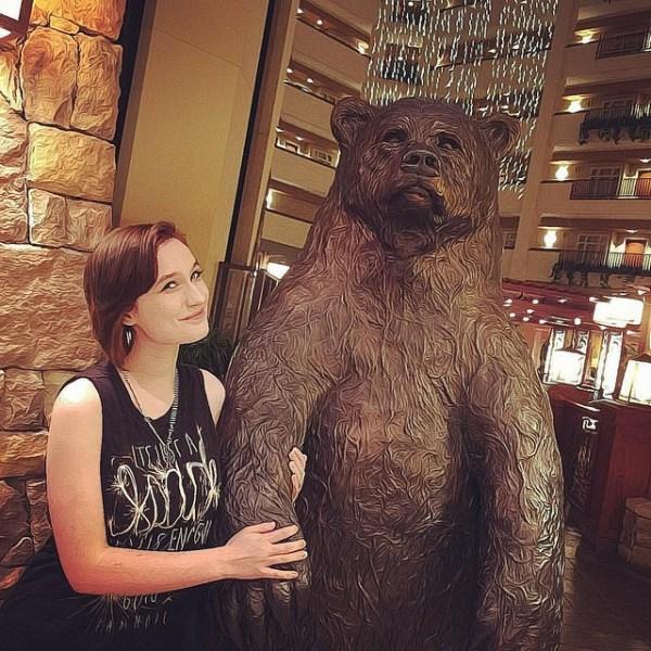 Morgan and the Bear
