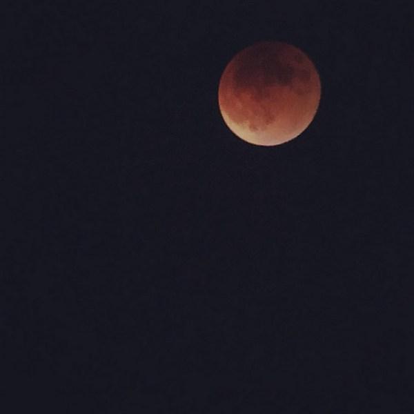 Blood Moon in Austin Texas