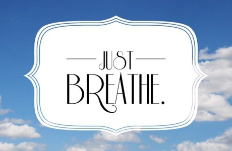 What a Homeschool Mama Needs : A Reminder to BREATHE