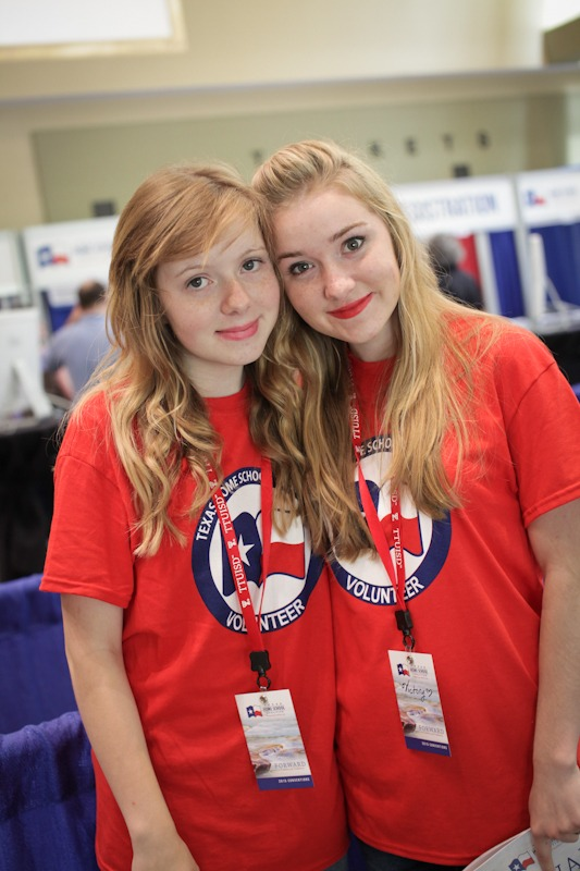 Teen Staffers and Volunteers for THSC