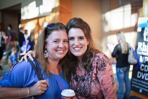 Lana and Sprittibee at THSC